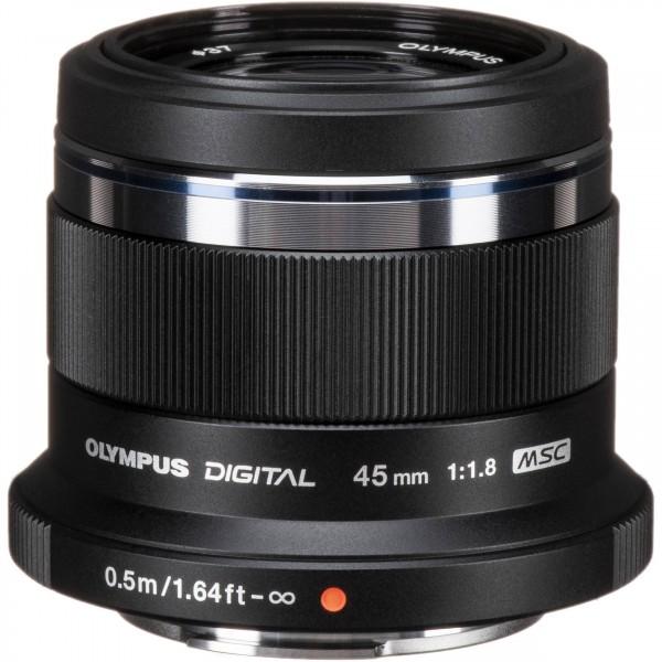 Olympus M.Zuiko 45mm/1.8 black-CH Garantie