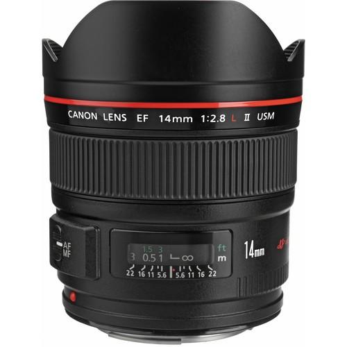 Canon EF 14/2.8L II USM-CH 3 Jahre CH Garantie