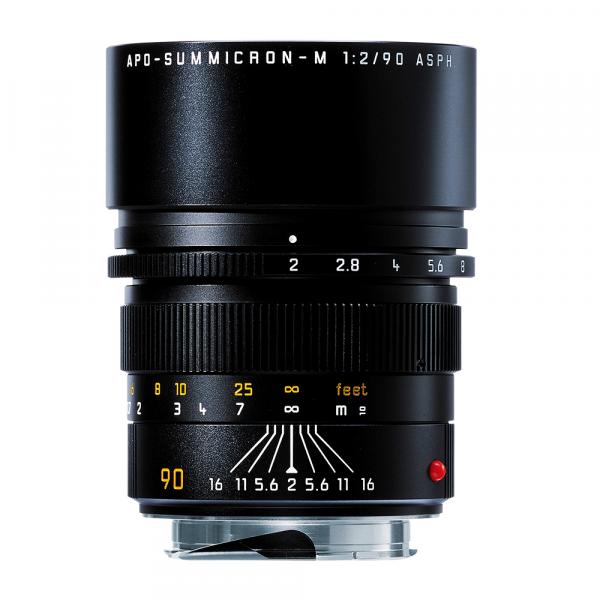 Leica APO-Summicron-M 90mm/2.0 ASPH. Schwarz 11884