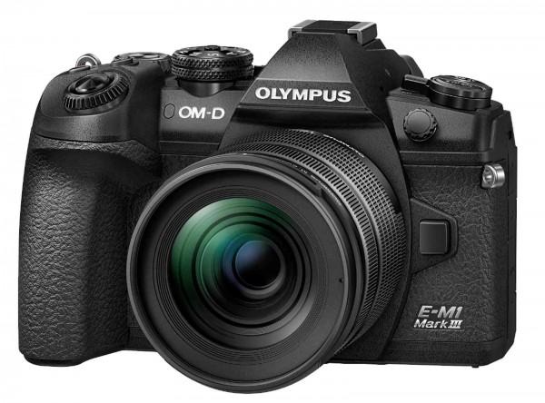 Olympus OM-D E-M1 III Kit 12-40mm-abzgl. 200.- Sofortrabatt mit Code,CH Gar.