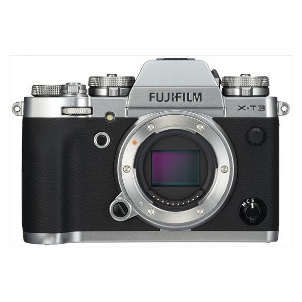 Fujifilm X-T3 Body silber-4 Jahre Fachhandelsgarantie