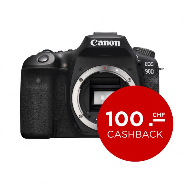 Canon EOS 90D Body-abzgl. 100.- CashBack , CH Garantie