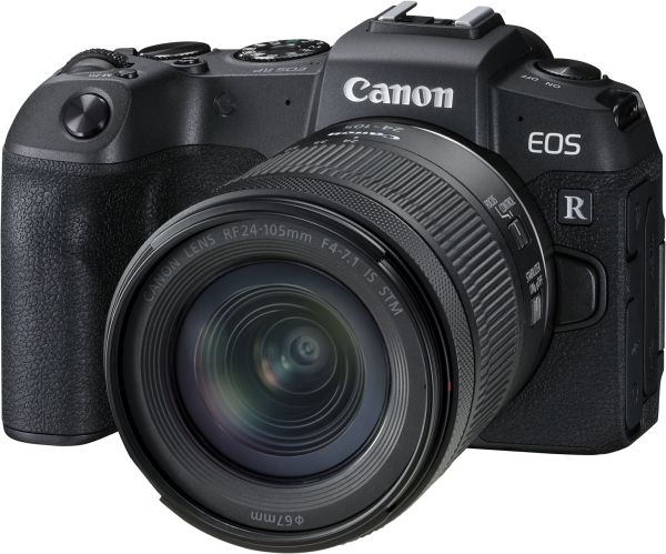 Canon EOS RP+RF 24-105/4-7.1 IS STM-EOS X Plus Aktion,CH Garantie