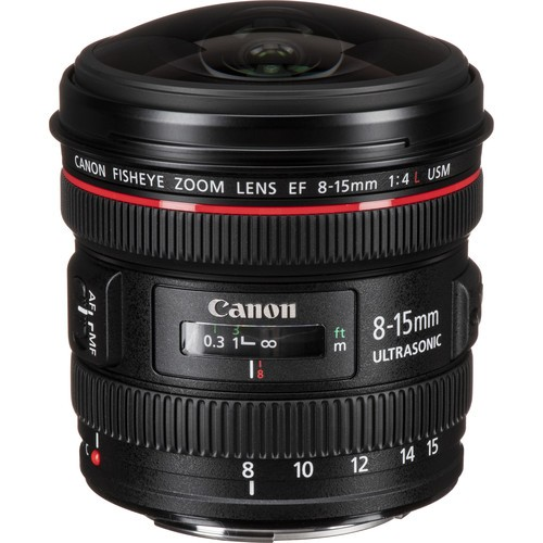 Canon EF 8-15/4L Fisheye USM-3 Jahre Premium Garantie