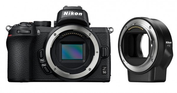 Nikon Z50 Body+ FTZ Adapter-3 Jahre CH Garantie