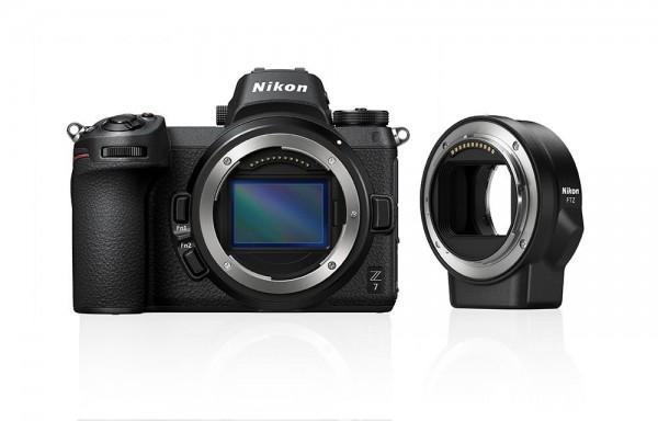 Nikon Z 7 Kit Body+FTZ Adapter-3 Jahre CH Gar.
