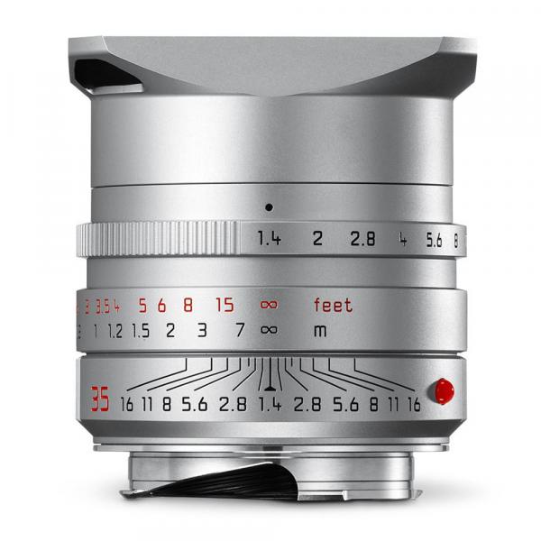 Leica Summilux-M 35/1.4 ASPH. silbern eloxiert 11675