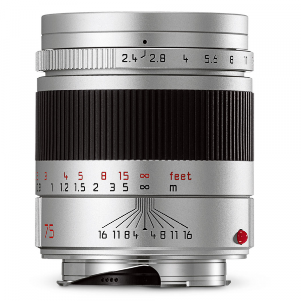 Leica Summarit-M 75/2.4 silbern 11683