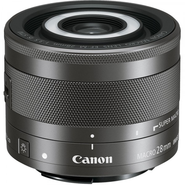 Canon EF-M 28/3.5 Macro IS STM-CH Gar.