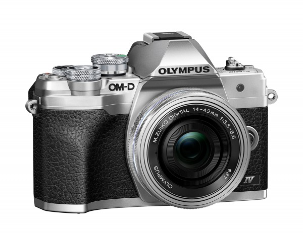 Olympus OM-D E-M10 IV Kit 14-42mm silber-CH Gar.