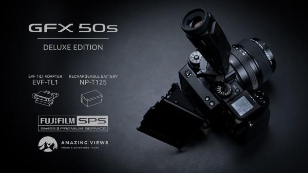 Fujifilm GFX 50s Deluxe Edition-4 Jahre CH Garantie