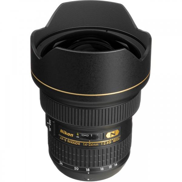 Nikon AF-S 14-24/2.8G ED-3 Jahre CH Garantie