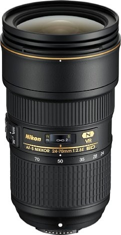 Nikon AF-S 24-70/2.8E ED VR - 3 Jahre CH Garantie