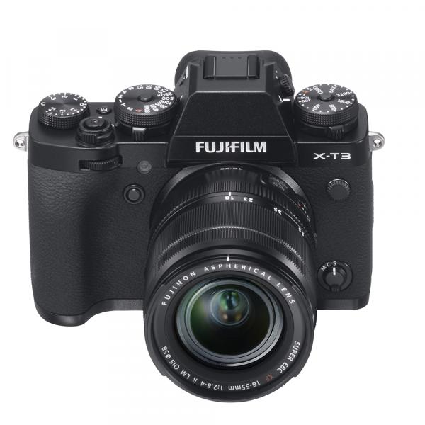 Fujifilm X-T3 Kit XF 18-55mm black-4 Jahre Fachhandelsgarantie