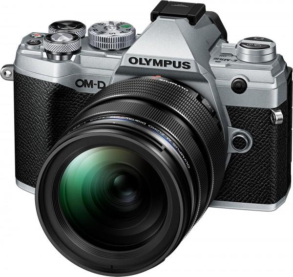 Olympus OM-D E-M5 III Kit 12-40mm silber-CH Gar