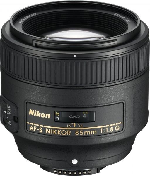 Nikon AF-S 85/1.8G-CH 3 J. Gar.