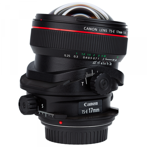 Canon TS-E 17mm 4.0 L-CH 3 Jahre CH Garantie