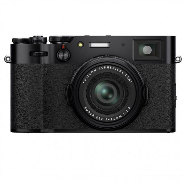 Fujifilm X100V black-4 Jahre Fachhandelsgarantie