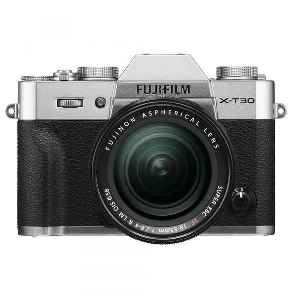 Fujifilm X-T30 Silber Kit XF18-55-4 Jahre Fachhandelsgarantie