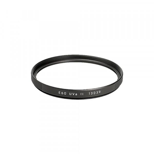 Leica Filter Uva II E60 schwarz 13039