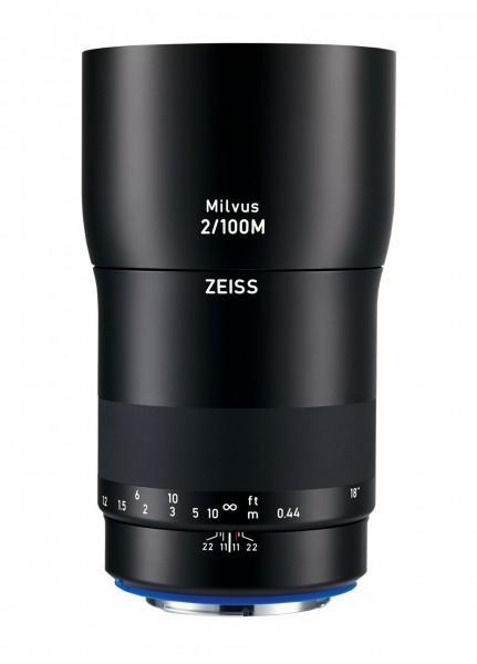 Zeiss Milvus T* 2,0/100mm ZF.2 Makro Nikon F - inkl. 150.- Sofortrabatt