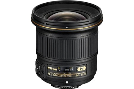 Nikon AF-S 20/1.8G ED N - inkl. 10% Rabatt , 3 Jahre Garantie