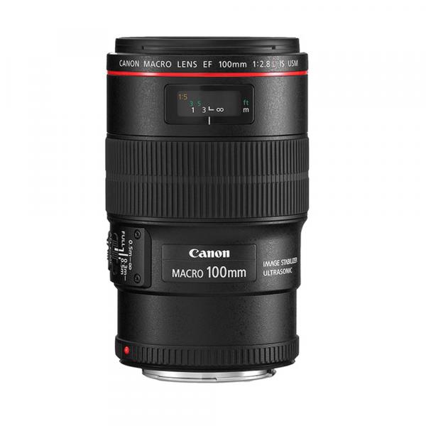 Canon EF 100/2.8L Makro IS USM-3 Jahre CH Garantie