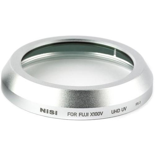 Nisi UHD UV Filter fuer Fuji X100V Silver