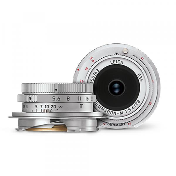 Leica Summaron-M 28/5.6 SILBERN VERCHROMT 11695