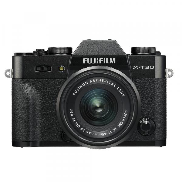 Fujifilm X-T30 Black Kit XC 15-45mm-4 Jahre Fachhandelsgarantie