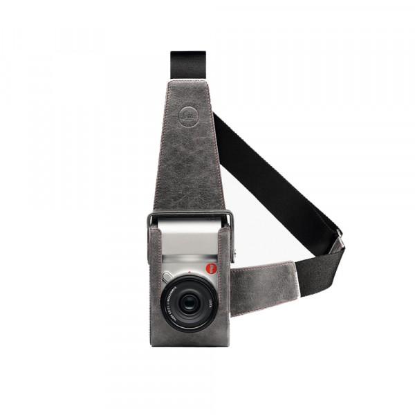 Leica Holster Leder steingerau für Leica T 18809