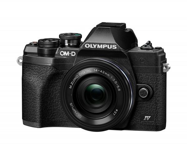 Olympus OM-D E-M10 IV Kit 14-42mm black-CH Gar.