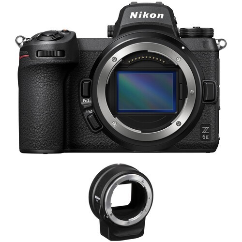 Nikon Z6 II Kit inkl. FTZ F-Mount Adapter - inkl. 200.- Sofort-Rabatt , 3 Jahre CH Gar.