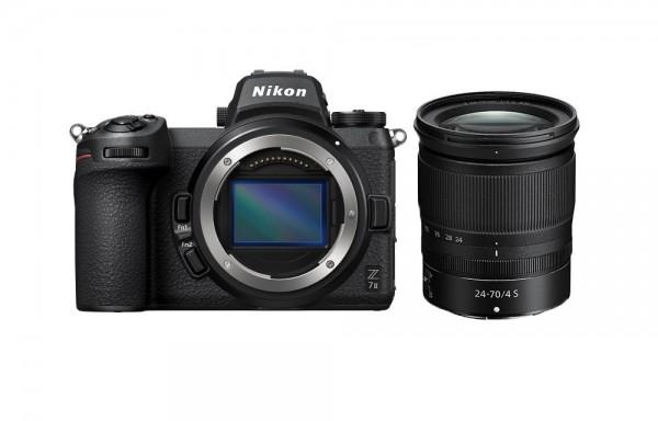 Nikon Z7 II Kit inkl. 24-70/4.0 S -3 Jahre CH Garantie