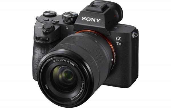 Sony A7 III Kit 28-70mm - abzgl. 200.- Sony CashBack , 4 Jahre CH Garantie