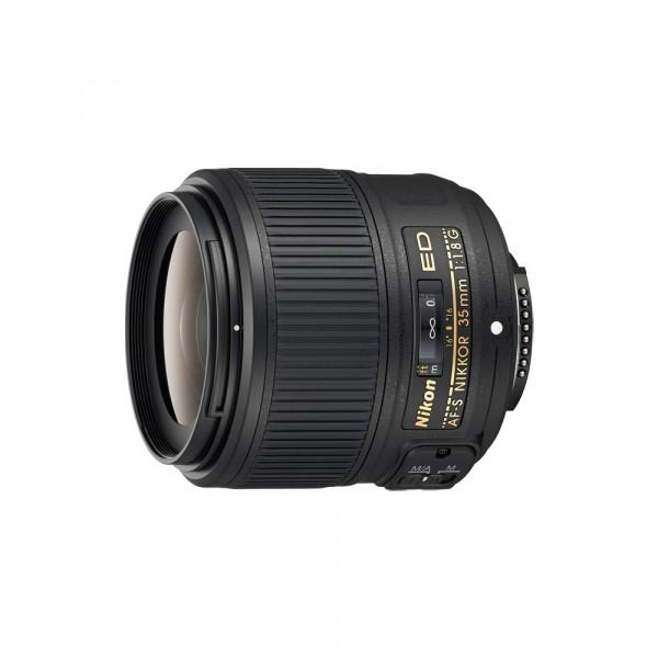 Nikon AF-S Nikkor 35mm/1.8G - inkl. 10% Rabatt , Nikon CH 3 Jahre Gar.