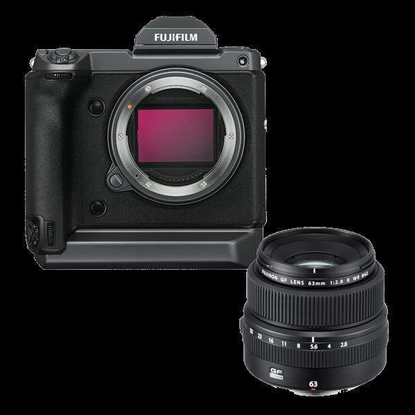 Fujifilm GFX100 Kit GF 63mm-4 Jahre CH Gar.