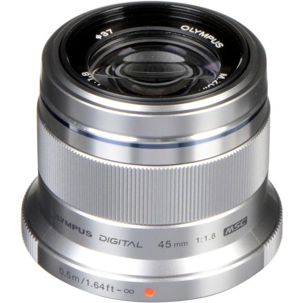 Olympus M.Zuiko 45/1.8 silver-CH Garantie