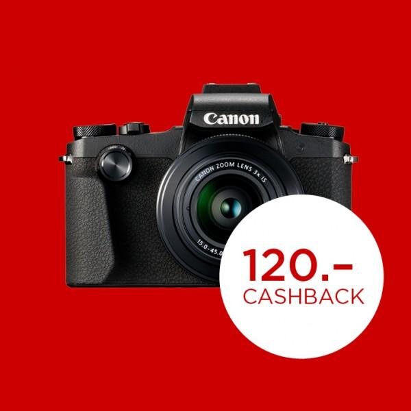 Canon PowerShot G1X Mark III-abzgl. 120.- CashBack , CH Garantie