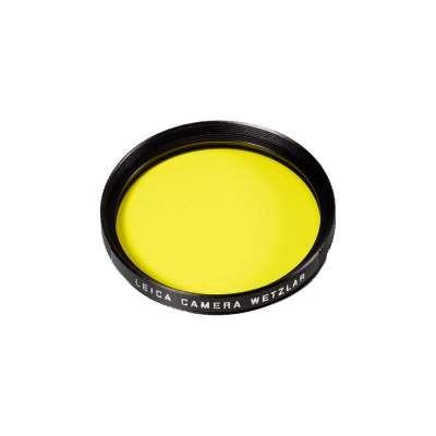 Leica Filter Gelb E39 schwarz 13062