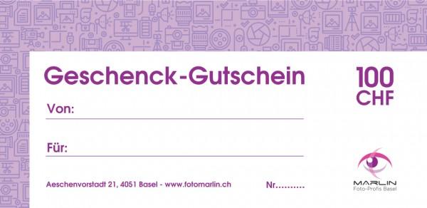 Marlin Geschenk-Gutschein 100.- CHF