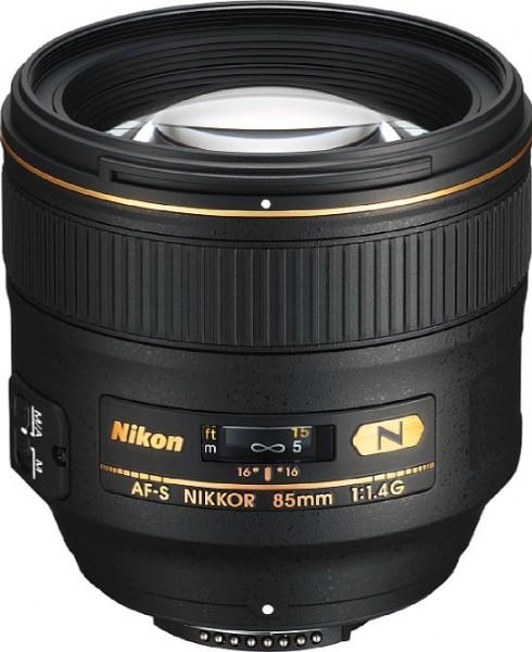Nikon AF-S 85/1.4G - CH 3 Jahre Garantie