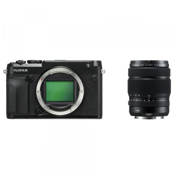 Fujifilm GFX 50R+GF 32-64/4R LM-inkl. 400.- Sofortrabatt,4 Jahre Fachhandelsgarantie