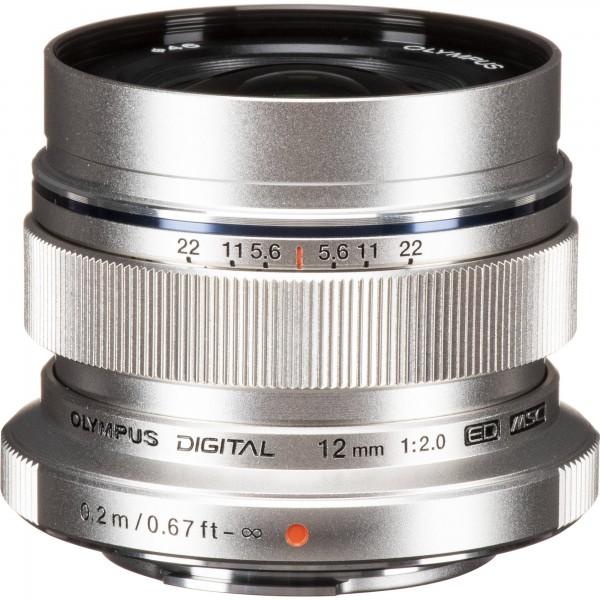 Olympus M.Zuiko 12mm /2.0 silver-CH Garantie
