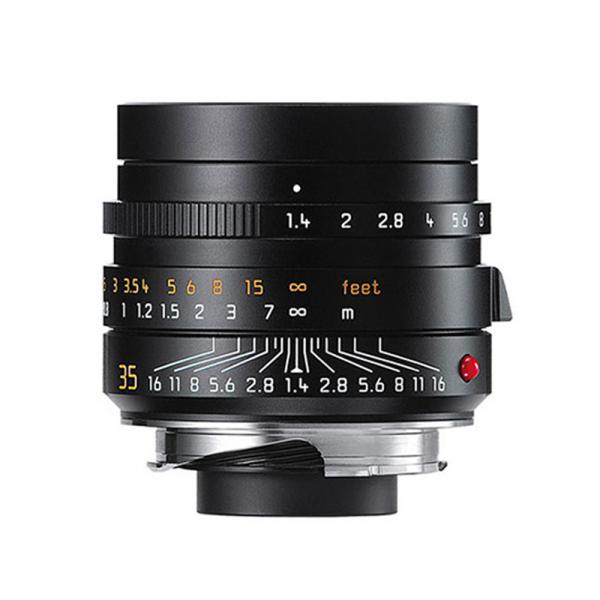 Leica Summilux-M 35mm/1.4 ASPH. schwarz eloxiert 11663