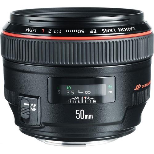 Canon EF 50/1.2L USM-CH Gar.