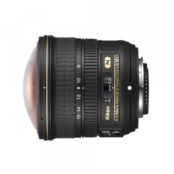 Nikon AF-S Fisheye 8-15/3.5-4.5 E ED - inkl. 10% Rabatt , 3 Jahre CH Garantie