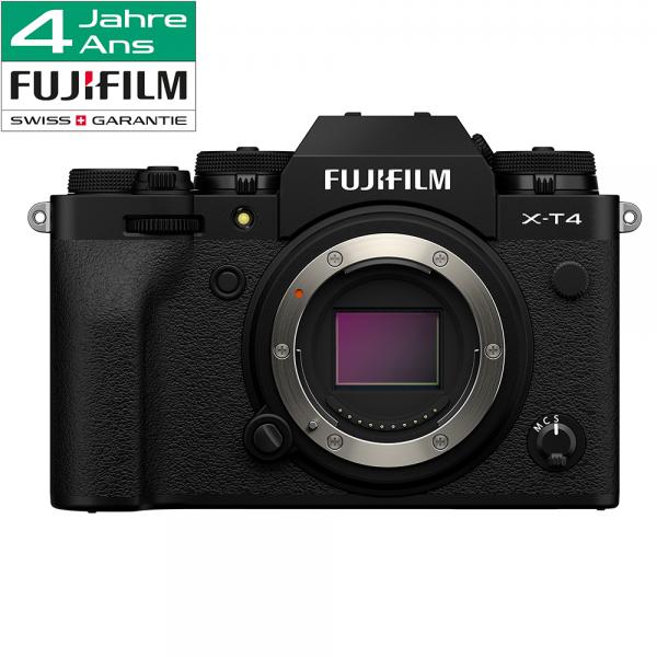 Fujifilm X-T4 Body black-4 Jahre CH Fachhandelsgarantie