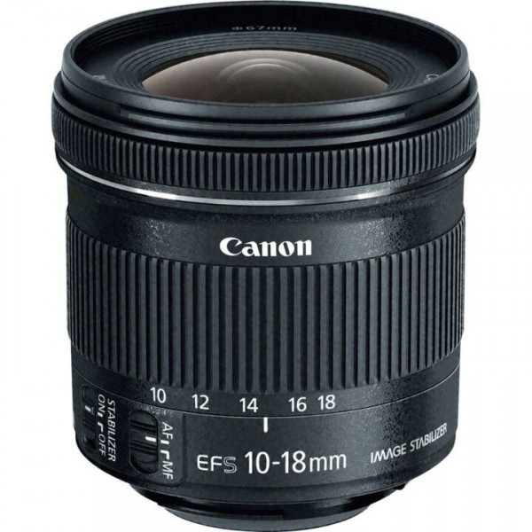 Canon EF-S 10-18/4.5-5.6 IS STM-CH Garantie