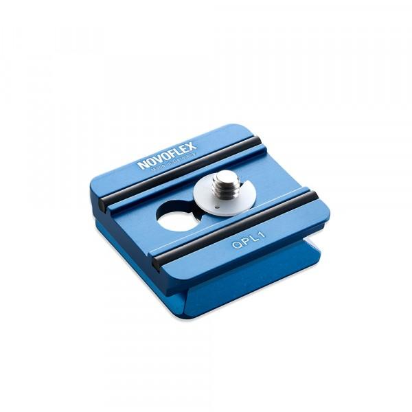 NOVOFLEX QPL1 Wechselplatte 42x42mm